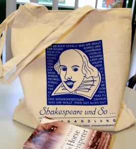 Jutebeutel Shakespeare