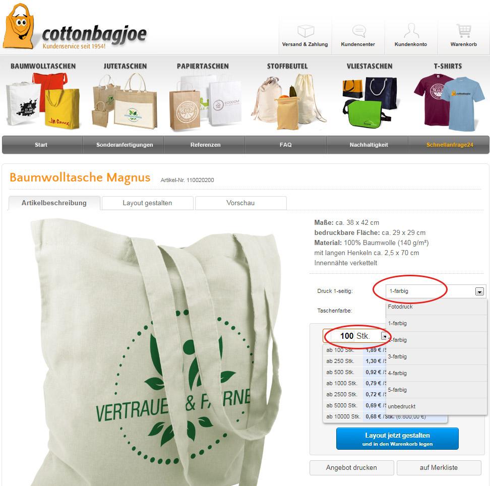 Anleitung Angebot Erstellen Cottonbagjoede