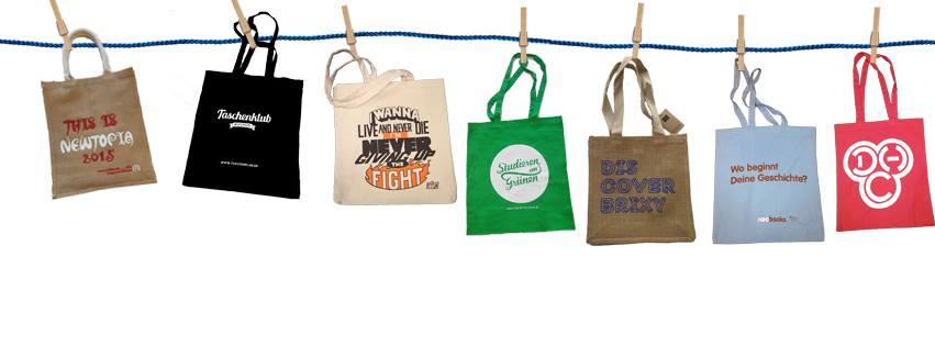 Baumwolltaschen für Wiederverkäufer in vielen Farben und Ausführungen