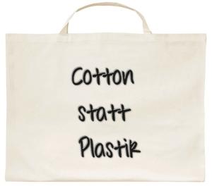 Weniger Plastiktüten für unsere Umwelt