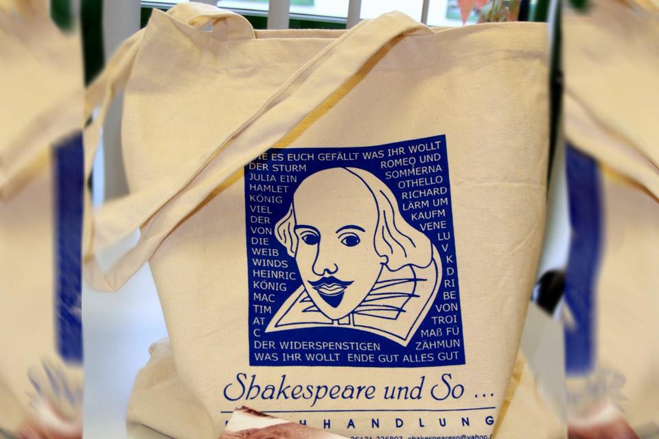 Jutebeutel Shakespeare Cottonbagjoe.de